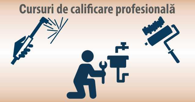 Cursuri de calificare profesionala